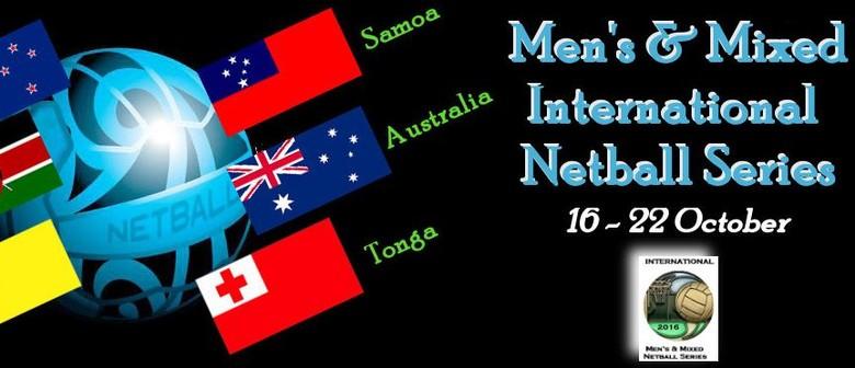 Men's & Mixed International Netball Series