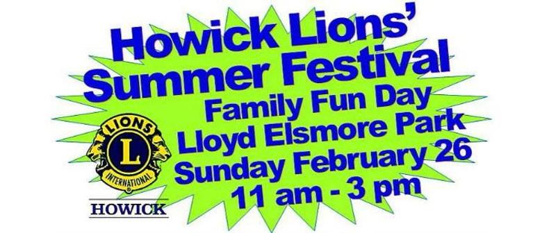 Howick Lions Summer Festival