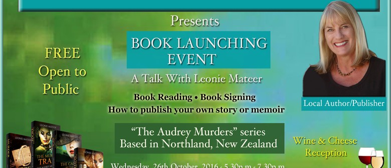Book Launch With Local Author of Murder Series