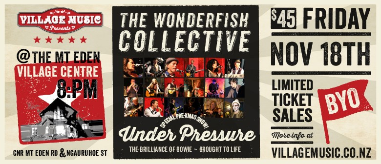 The Wonderfish Collective - Under Pressure