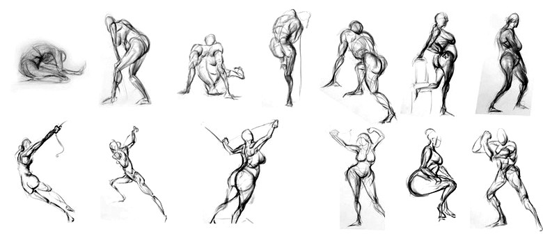 Bay of Islands Life Drawing