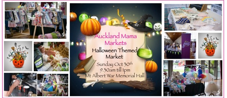 Halloween At Auckland Mama Markets