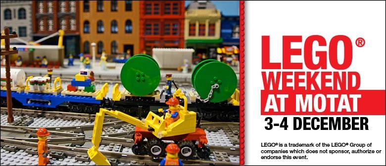 Lego Weekend At MOTAT