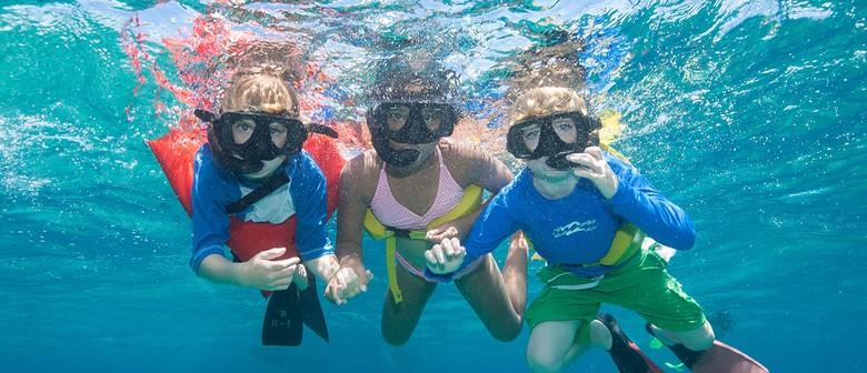 Kids Learn to Snorkel