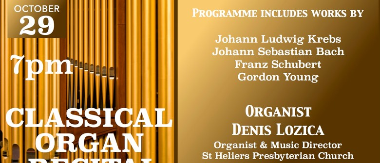 Classical Organ Recital