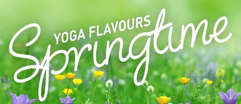 Yoga Flavours: Springtime Yoga Event
