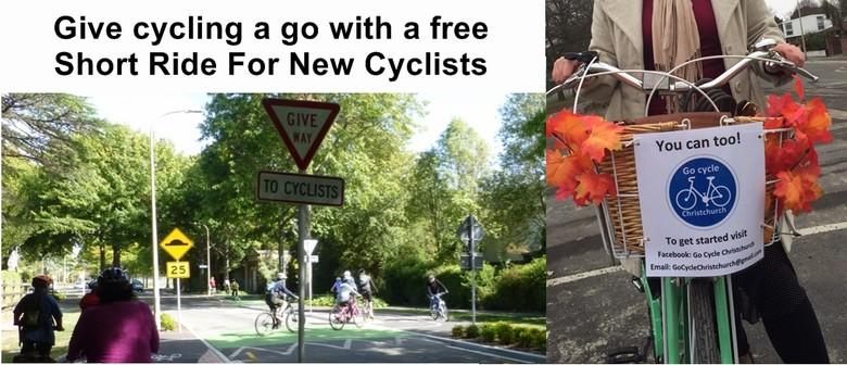 Short Ride For New Cyclists - CBD, Hagley Park & Addington