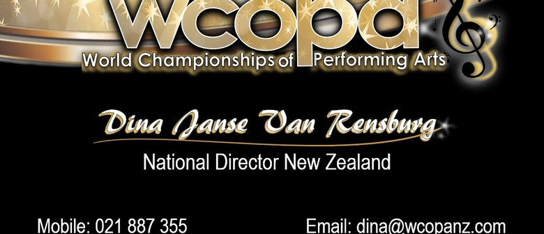 Audition World Championships of Performing Arts