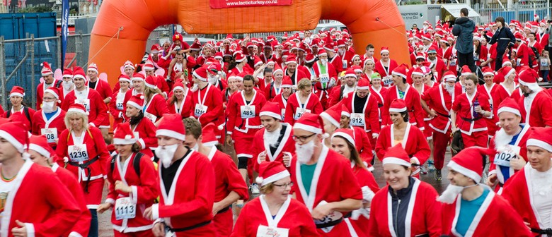 The Great KidsCan Santa Run/Walk - Wellington