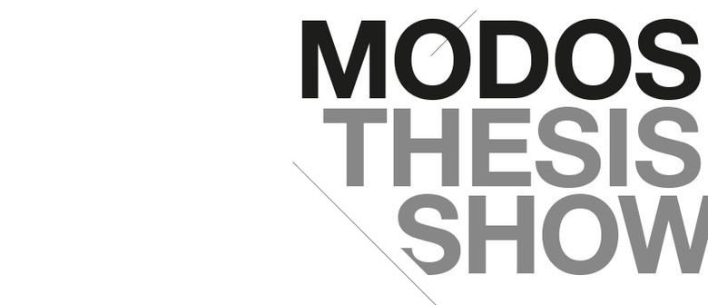 MODOS Thesis Show 2016