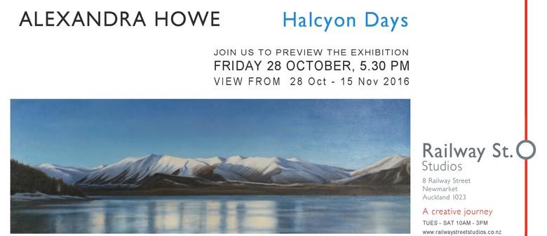 Halcyon Days by Alexandra Howe