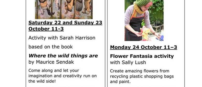 Flower Fantasia Drop In Workshop with Sally Lush