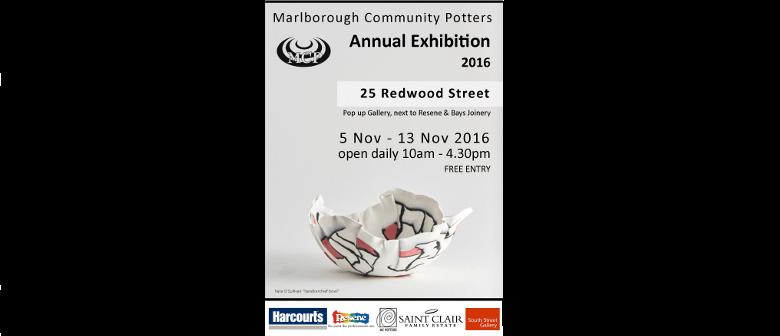 Marlborough Community Potter Ceramic Awards 2016