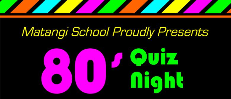 Matangi Primary School Quiz Night