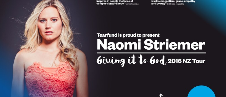 Naomi Striemer: Giving It to God 2016 Tour