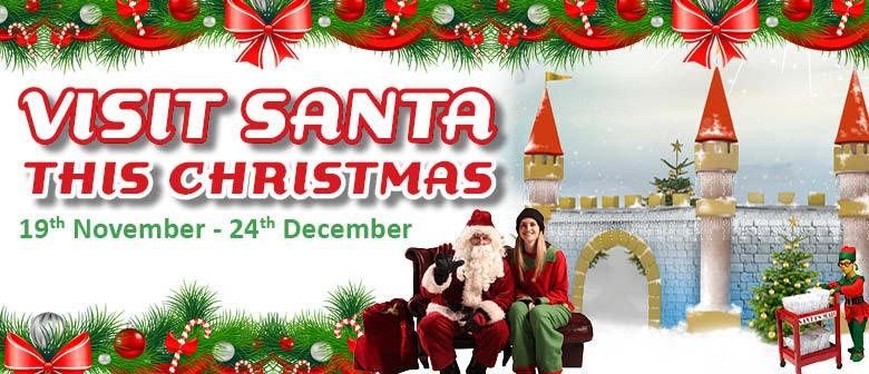 Visit Santa At Snowplanet
