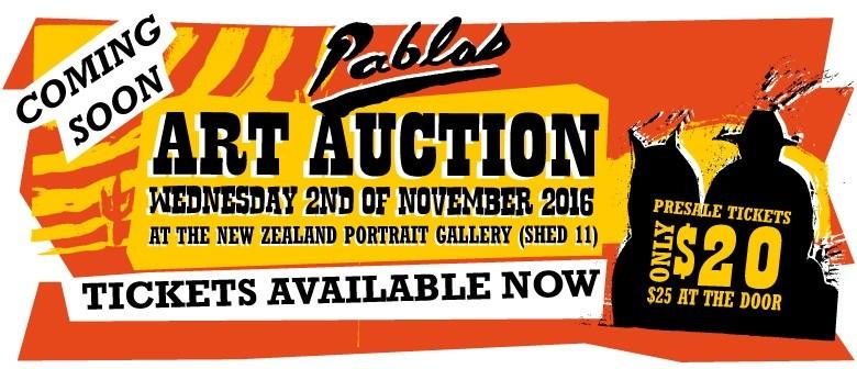 Pablos Art Auction