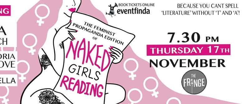Naked Girls Reading: The Feminist Propaganda Edition