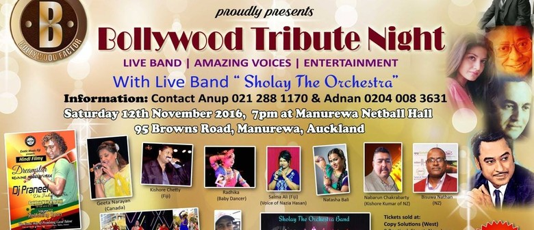 Bollywood Legends Tribute Night