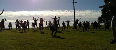 Outdoor Group Fitness Classes - Les Mills Grit