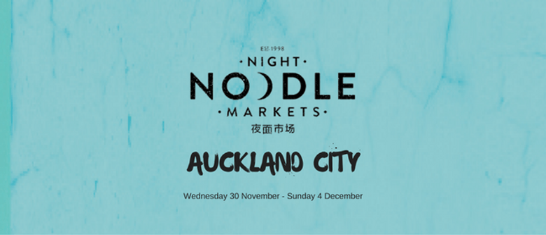 Night Noodle Markets Auckland