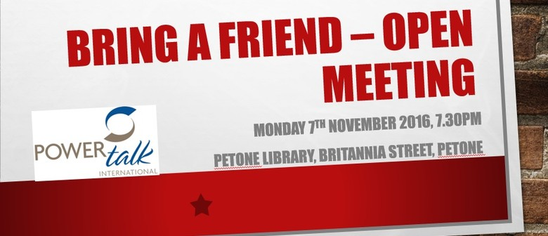 Bring a Friend - Open Meeting