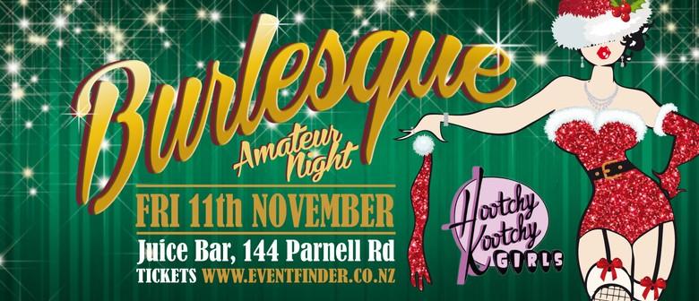 Hootchy Kootchy Burlesque Amateur Night