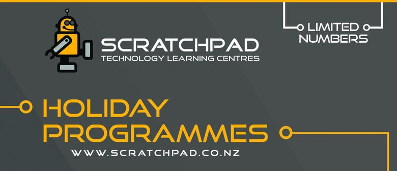Scratchpad Holiday Programme: Introduction to Graphic Design