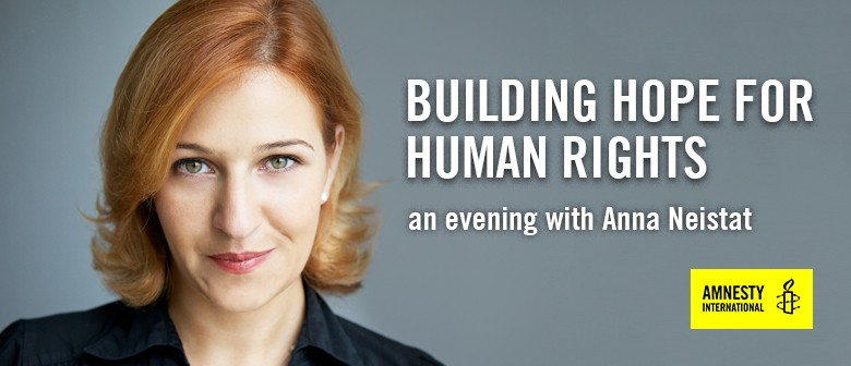 Building Hope for Human Rights: An evening with Anna Neistat
