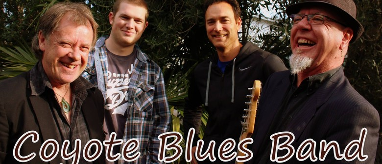 Coyote Blues Band: Back At the Boathouse