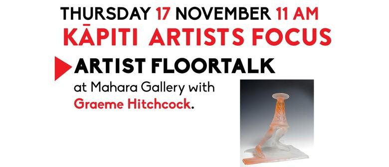 Artist floortalk with Graeme Hitchcock
