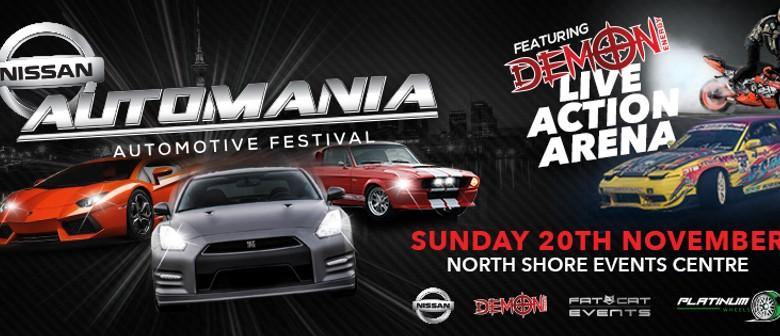 Automania Automotive Festival 2016 - Powererd by Nissan