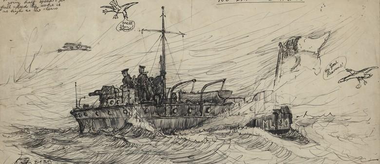 Ahoy! WW1 Naval Artists Lieutenants Esmond & Hal Atkinson