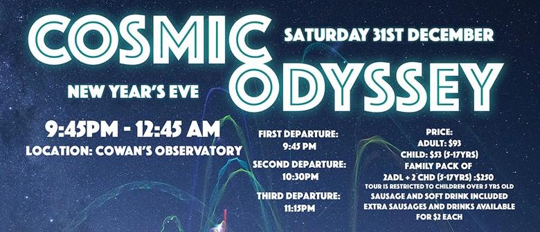 Earth & Sky New Years Eve Cosmic Odyssey