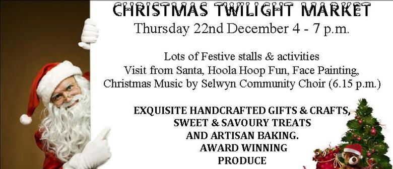 Lincoln's Christmas Twilight Market