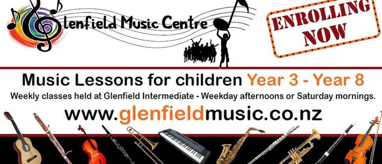 Glenfield Music Centre Instrument Buffet
