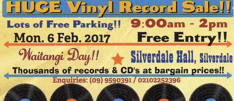 Vinyl Record Sale - Silverdale Hibiscus Coast