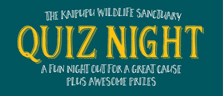 The Kaipupu Wildlife Sanctuary Quiz Night