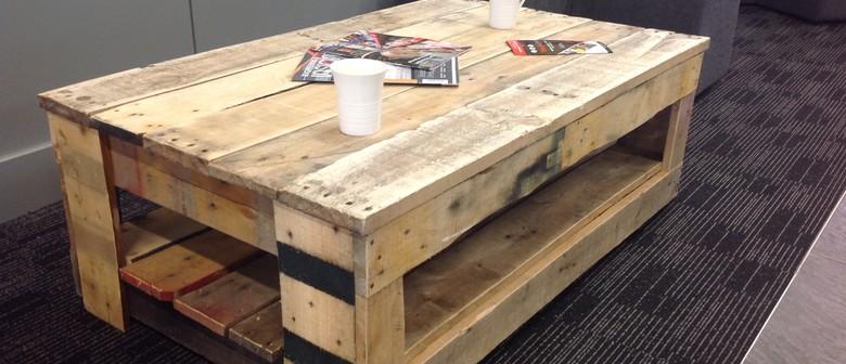 Create A Rustic Coffee Table