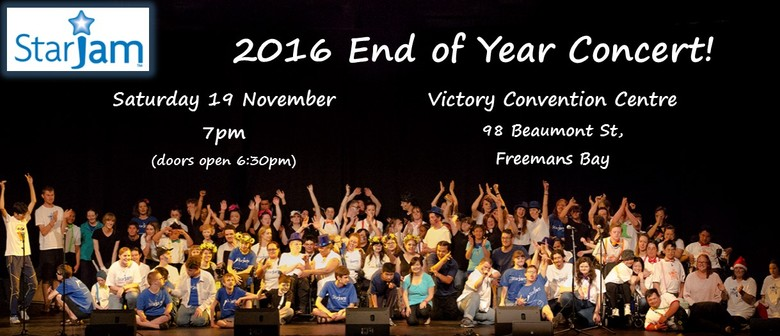 StarJam 2016 End of Year Concert