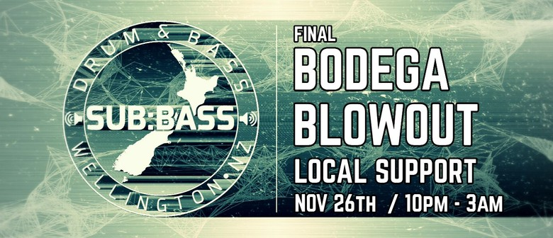 Sub:Bass - Final Bodega Blowout
