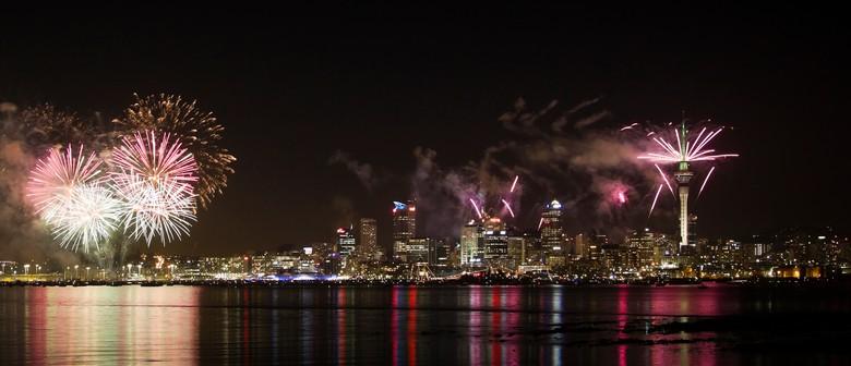 Hauraki Blue New Year's Eve Cruise