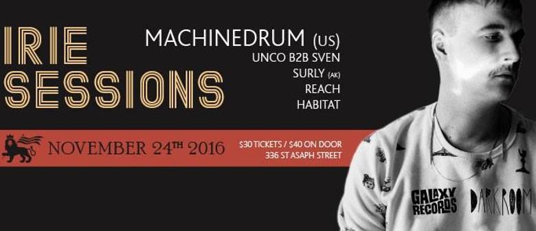 Irie Sessions: Machinedrum (US)