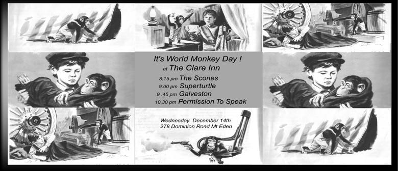 It's World Monkey Day!