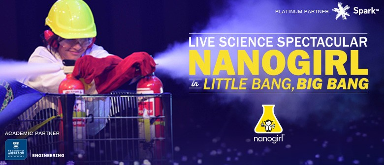 "Nanogirl in ""Little Bang, Big Bang"" - Live Science Show"