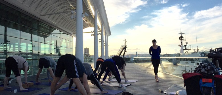 Sunset Yoga - Wynyard Quarter