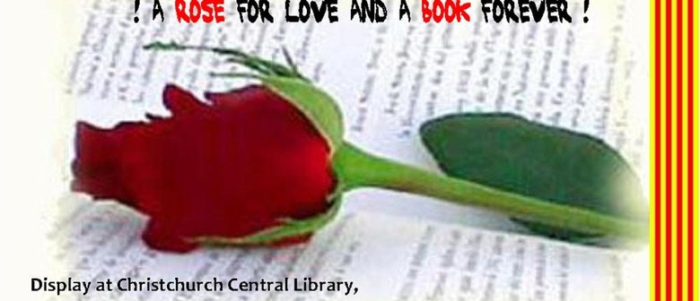 Celebration St George's Day – Day of Love, Books & Roses