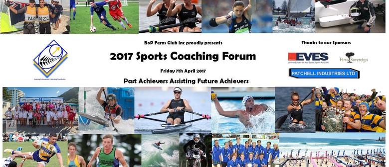 2017 Sports Coaching Forum