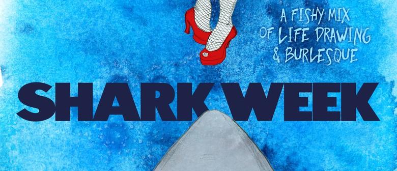 Dr Sketchy's Anti-Art School: Shark Week