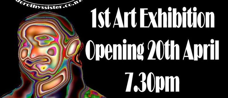 Rodney Coleman's 1st Art Exhibition